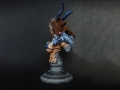 Kingdom Death - Bust Primal Huntress 04