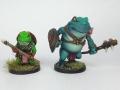 Mice & Mystics - Downwood Tales - Froglodyte & Bullfroglodyte