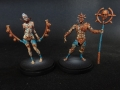 Kingdom Death - Worhsiper of the Storm Male and Female